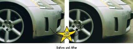 Nissan-Bumper-Scratch